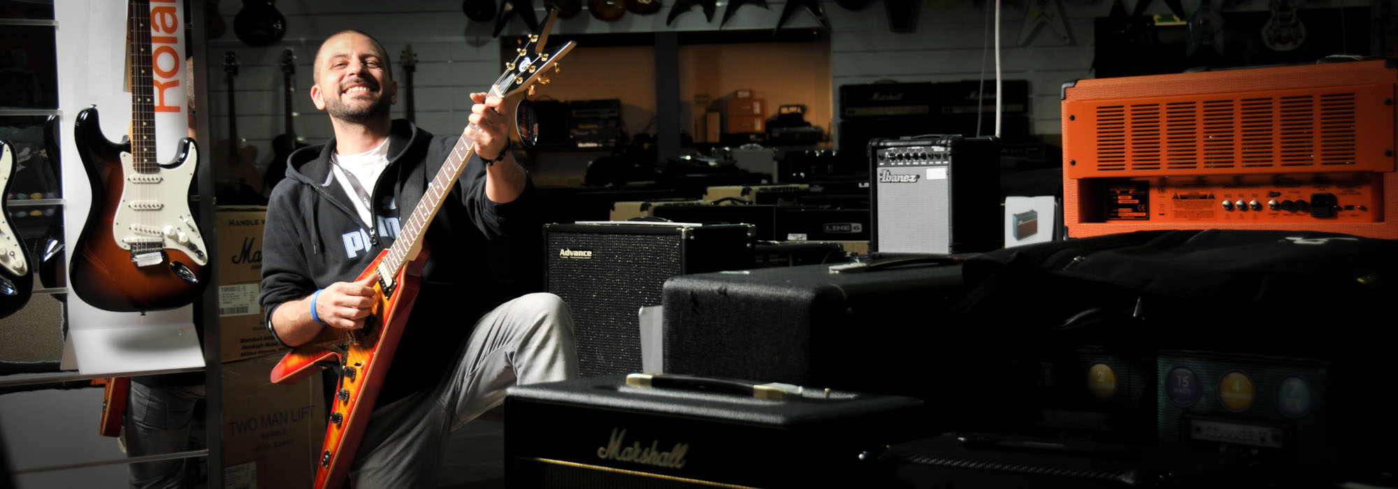 david danieli chitarre